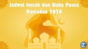 Jadwal Imsak dan Buka Puasa Wilayah Lombok dan Sekitarnya, Minggu 3 Mei 2020