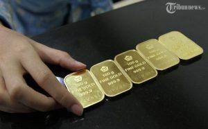 Turun Rp 10.000, Harga Emas Antam Selasa 19 Mei 2020 Capai Rp 924.000 per Gramnya, Simak Rinciannya